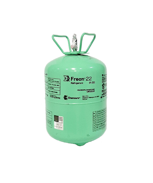 Cilindro de refrigerante R-22